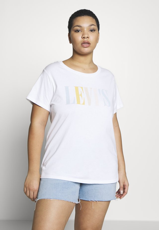 THE PERFECT TEE - T-shirt con stampa - multi-coloured/white