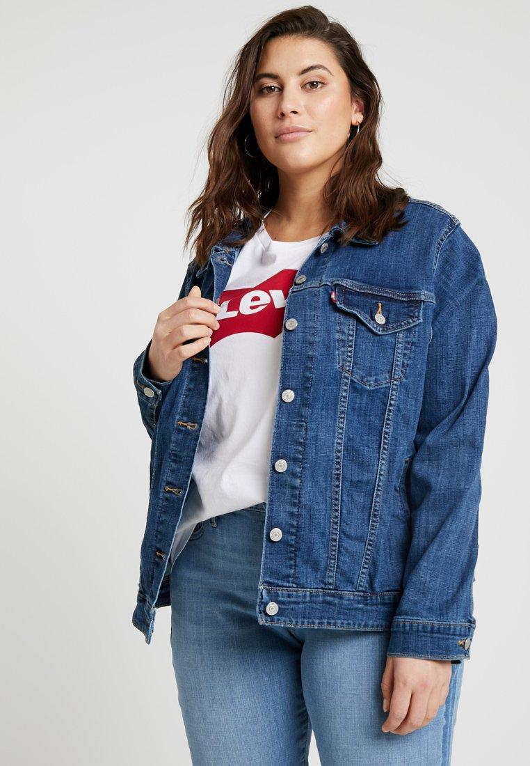 Levi's® Plus - PL ORIGINAL TRUCKER - Denim jacket - lola