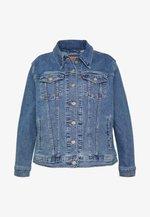BOYFRIEND TRUCKER - Jeansjakke - light-blue denim