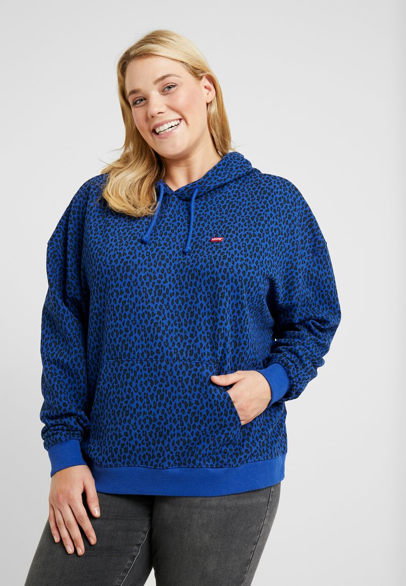 Levi's® Plus - GRAPHIC HOODIE - Hoodie - sodalite blue