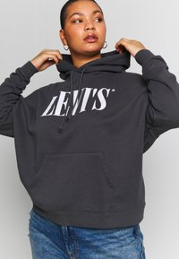 Levi's® Plus - GRAPHIC HOODIE - Hoodie - forged iron - 3