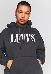 Levi's® Plus - GRAPHIC HOODIE - Hoodie - forged iron - 5