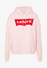 Levi's® Plus - GRAPHIC HOODIE - Bluza z kapturem - peach blush - 4