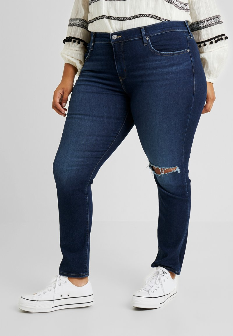 Levi's® Plus - 311 PL SHAPING SKINNY - Skinny-Farkut - london haze plus