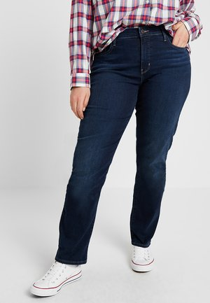 SHAPING - Jeans a sigaretta - dark horse
