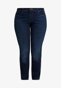 Levi's® Plus - SHAPING - Jeans Straight Leg - dark horse - 4