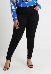 Levi's® Plus - 310 PL SHPING SPR SKINNY - Jeans Skinny Fit - black galaxy - 0