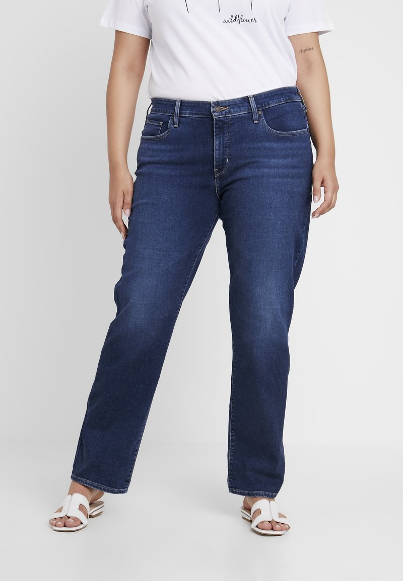 Levi's® Plus - 314 PL SHAPING STRAIGHT - Straight leg jeans - paris nights