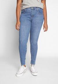 Levi's® Plus - SHPING - Jeans Skinny Fit - tempo blue - 0
