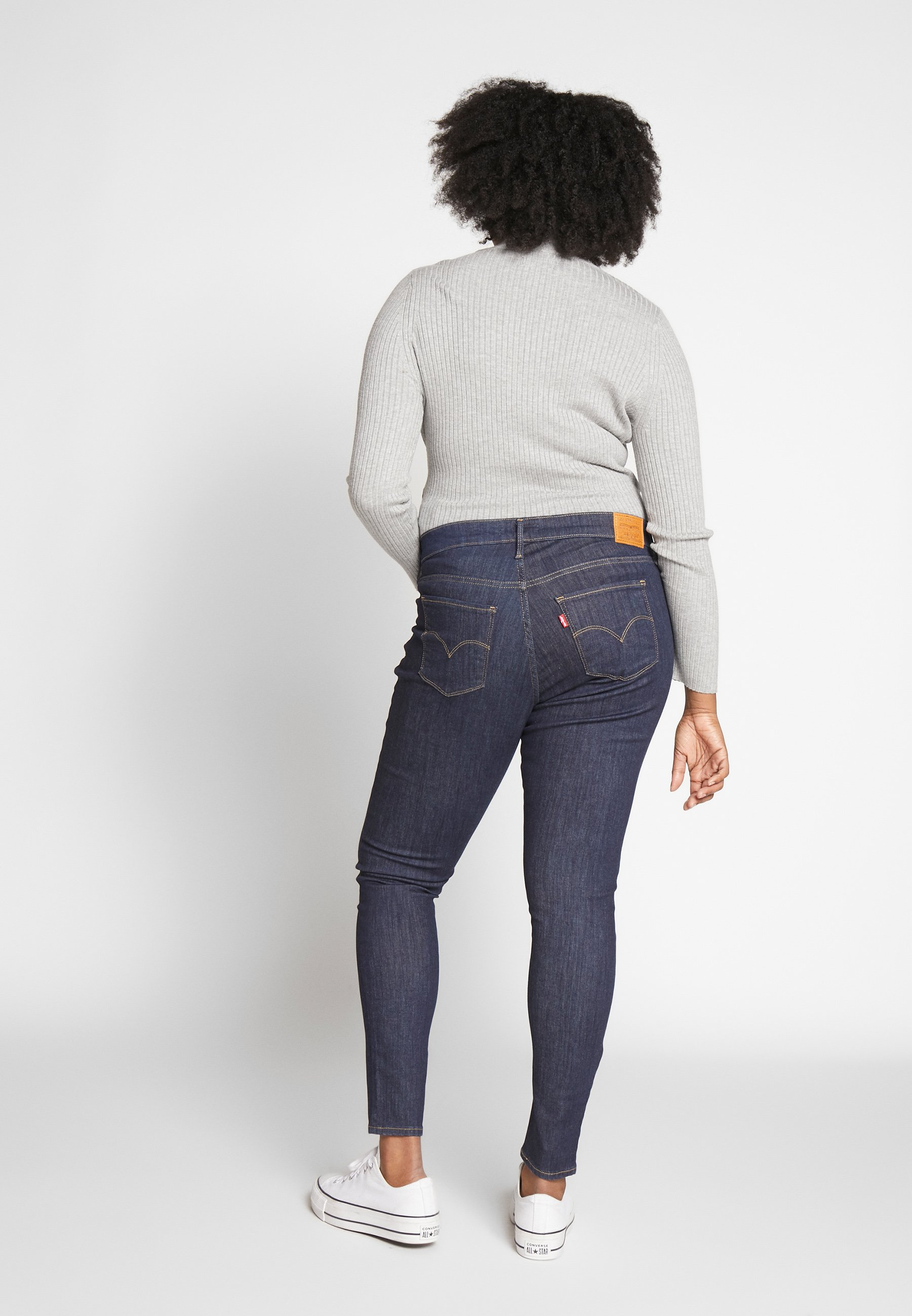 Levi's® Plus SHPING - Jeansy Skinny Fit - deep serenity