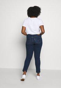 Levi's® Plus - SHAPING SKINNY - Jeans Skinny Fit - london dark indigo - 2