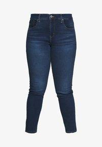 Levi's® Plus - SHAPING SKINNY - Jeans Skinny Fit - london dark indigo - 4