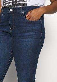 Levi's® Plus - SHAPING SKINNY - Jeans Skinny Fit - london dark indigo - 3