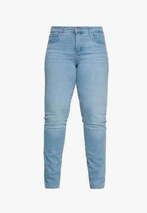 314 PL SHAPING STRAIGHT - Jeans straight leg - berlin summer plus