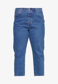Levi's® Plus - PL 501® CROP - Džíny Straight Fit - jive stonewash - 3