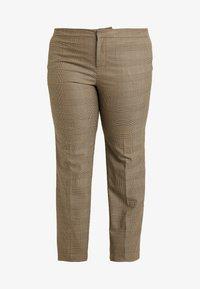 Lauren Ralph Lauren Woman - QUARTILLA-STRAIGHT-PANT - Broek - brown/tan multi - 4