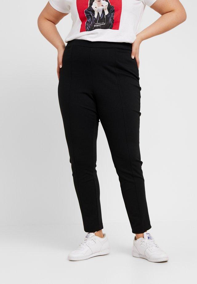 HARYNDA PANT - Trousers - polo black