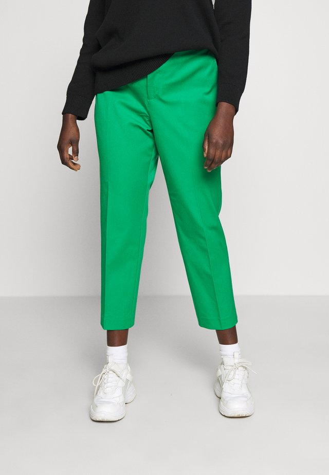 LYCETTE PANT - Stoffhose - hedge green