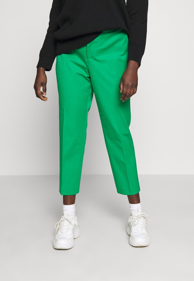 Lauren Ralph Lauren Woman - LYCETTE PANT - Pantalon classique - hedge green