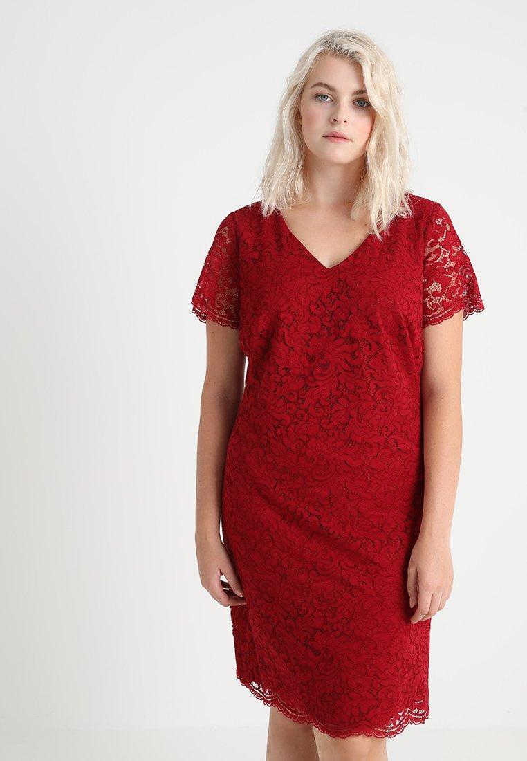 Lauren Ralph Lauren Woman - Cocktail dress / Party dress - vibrant garnet