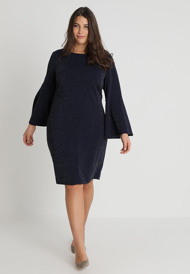 Lauren Ralph Lauren Woman Robe en jersey - bleu navy