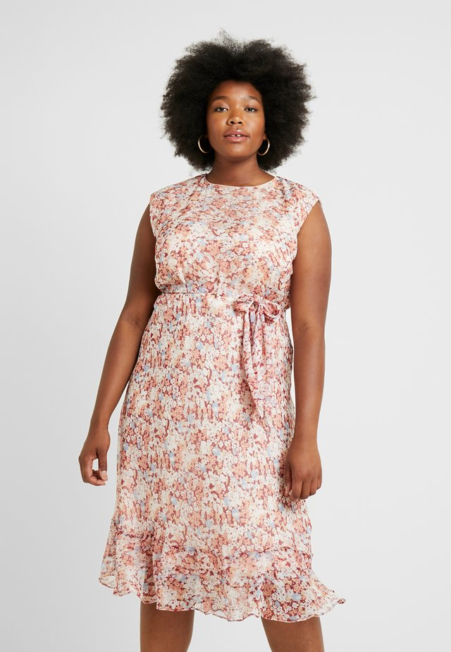 ALASTAIR CASUAL DRESS - Freizeitkleid - dark raspberry/multi