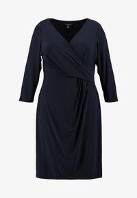 Lauren Ralph Lauren Woman - CLEORA LONG SLEEVE DAY DRESS - Vestido de tubo - lighthouse navy - 3