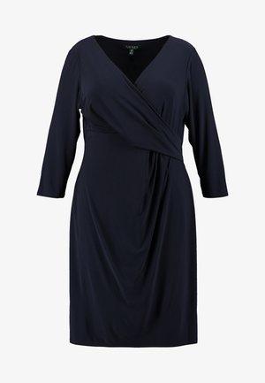CLEORA LONG SLEEVE DAY DRESS - Vestido de tubo - lighthouse navy