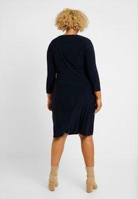 Lauren Ralph Lauren Woman - CLEORA LONG SLEEVE DAY DRESS - Vestido de tubo - lighthouse navy - 2