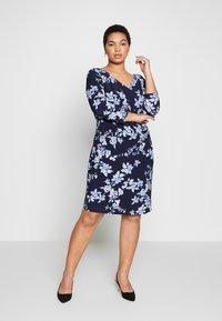 Lauren Ralph Lauren Woman - ANDEE - Vestido ligero - dark blue - 0