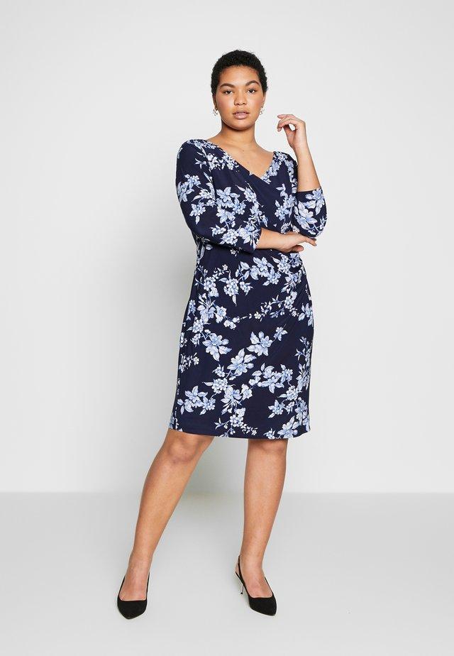 ANDEE - Jerseyklänning - dark blue