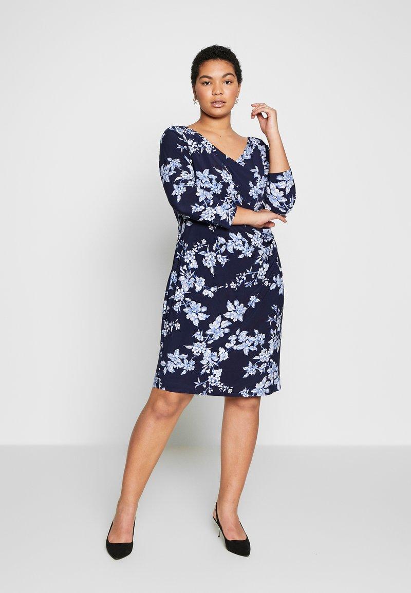 Lauren Ralph Lauren Woman - ANDEE - Vestido ligero - dark blue