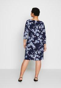 Lauren Ralph Lauren Woman - ANDEE - Vestido ligero - dark blue - 2