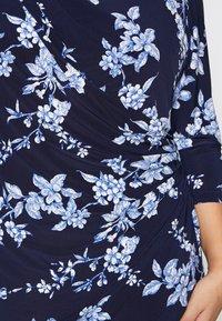 Lauren Ralph Lauren Woman - ANDEE - Vestido ligero - dark blue - 5