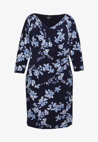 Lauren Ralph Lauren Woman - ANDEE - Vestido ligero - dark blue - 4