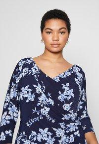 Lauren Ralph Lauren Woman - ANDEE - Vestido ligero - dark blue - 3