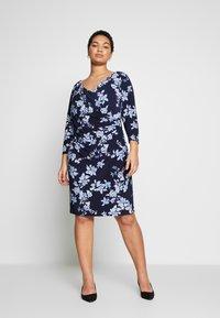Lauren Ralph Lauren Woman - ANDEE - Vestido ligero - dark blue - 1