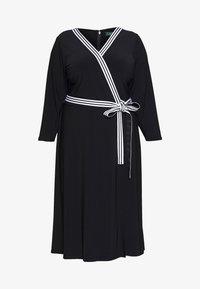 Lauren Ralph Lauren Woman - BENNETT DAY DRESS - Robe fourreau - black - 4