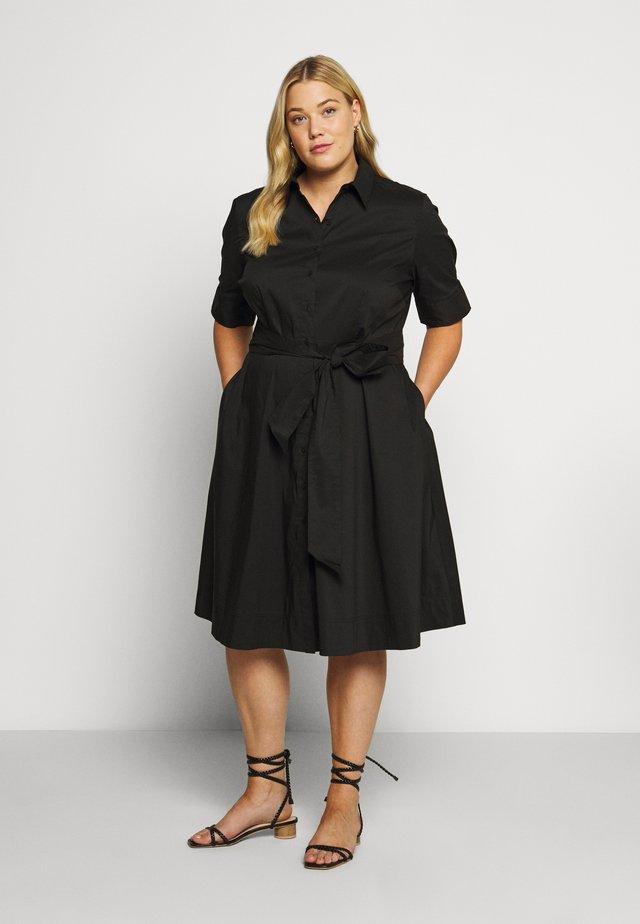 FINNBARR CASUAL DRESS - Shirt dress - black
