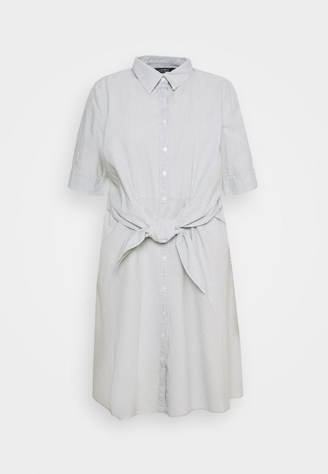 COYNE SLEEVE CASUAL DRESS - Blousejurk - vintage chambray wash
