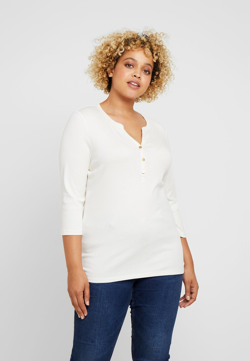 Lauren Ralph Lauren Woman - T-shirt à manches longues - mascarpone cream