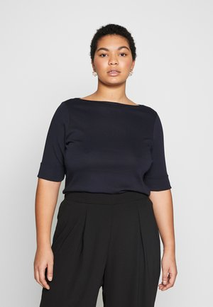 JUDY ELBOW SLEEVE - T-shirt imprimé - navy