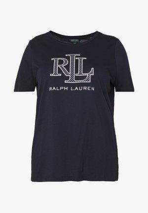 KATLIN SHORT SLEEVE - Camiseta estampada - navy