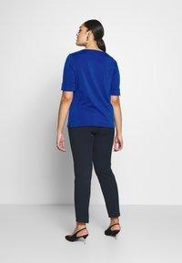 Lauren Ralph Lauren Woman - JUDY ELBOW SLEEVE - Print T-shirt - blue glacier - 2