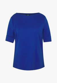 Lauren Ralph Lauren Woman - JUDY ELBOW SLEEVE - Print T-shirt - blue glacier - 4