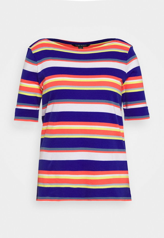 JUDY-ELBOW SLEEVE-KNIT - T-Shirt print - heritage royal multi
