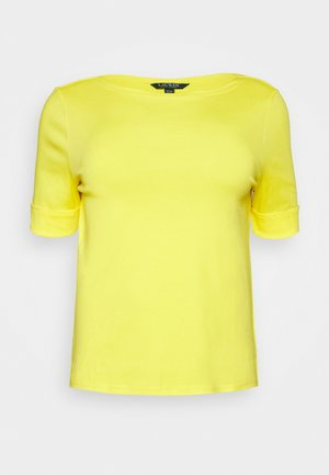 JUDY ELBOW SLEEVE - T-shirts - hampton yellow