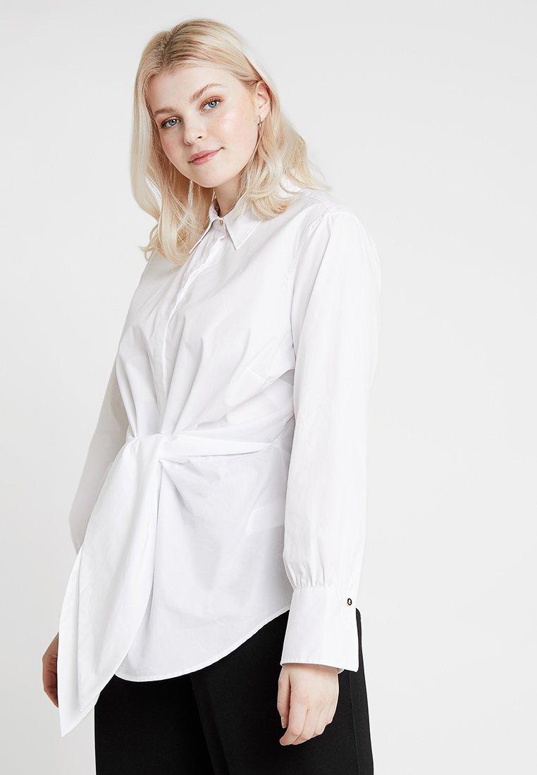 Lauren Ralph Lauren Woman - SAROTTE LONG SLEEVE - Button-down blouse - white