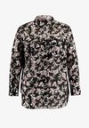 Lauren Ralph Lauren Woman - COURTENAY LONG SLEEVE - Button-down blouse - black multi