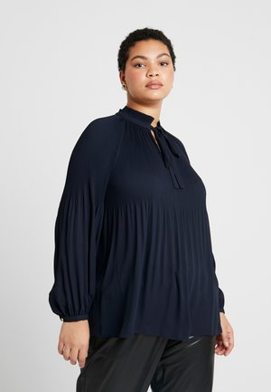 DUONG LONG SLEEVE - Blus - lauren navy